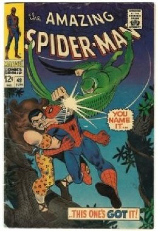 Amazing Spider-Man 49 Kraven Vulture