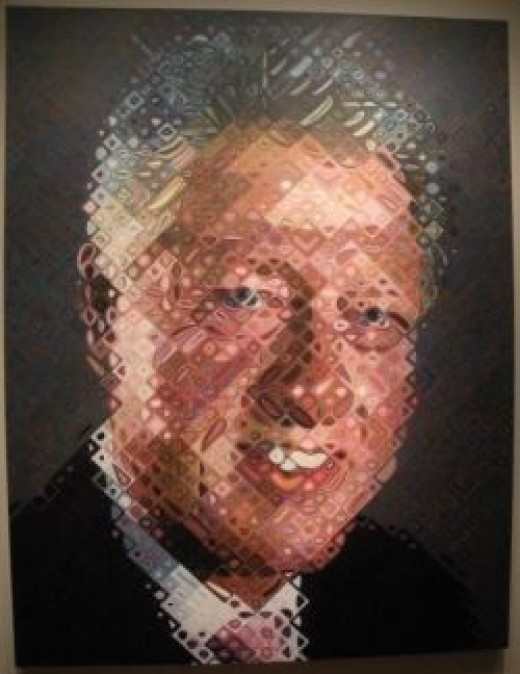 National Portrait Gallery Clinton