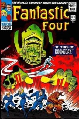 Fantastic Four 49 Galactus Silver Surfer