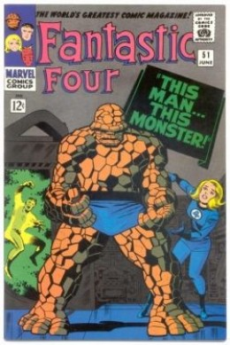 Fantastic Four 51 The Thing