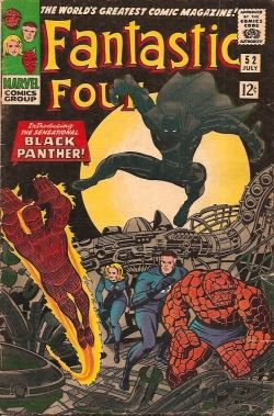 Fantastic Four 52 Black Panther