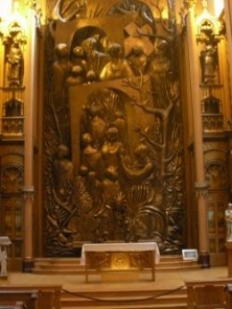 Montreal Notre Dame Basilica Sculpture