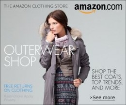 buy coats at Amazon