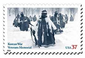 Korean War Veterans Memorial Stamp