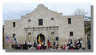 Tartan Day Ceremony at the Alamo 2008- Picture Courtesy of James David Calhoun
