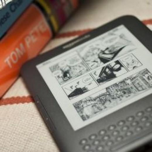 Eink reading device