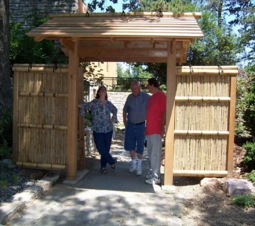 Gate to Japanese Garden, Loose Park, Kansas City