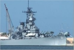 The Battleship U.S.S. Missouri