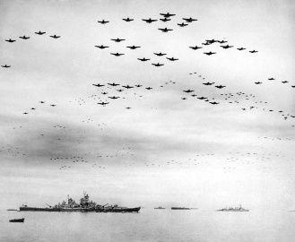 USS Missouri Battleship - September 2, 1945