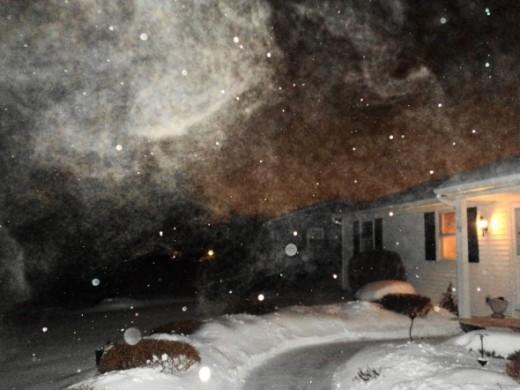 Snowstorm 2011 in Henrietta, New York ~ click to see sunnier days