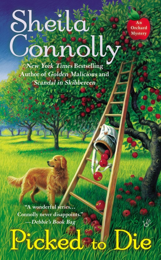 The eighth installment in the Orchard Mystery series