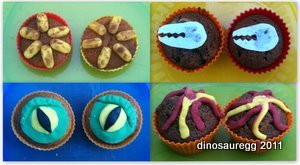 Click for Dinosaur Cupcakes