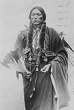 Comanche Indian - source Wikipedia