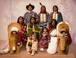 Ute Indian Family - source Wikipedia