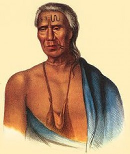 Lenape Indian Chief - source Wikipedia