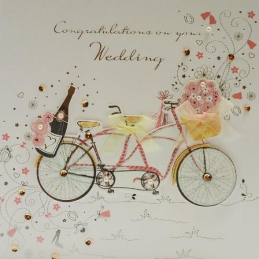 handmade wedding day cards 2012