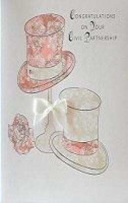 Civil Parnership Wedding Cards