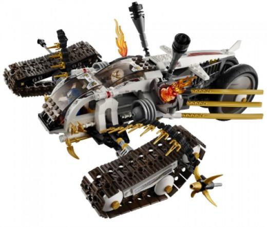 LEGO Ninjago Ultra Sonic Raider Set 9449