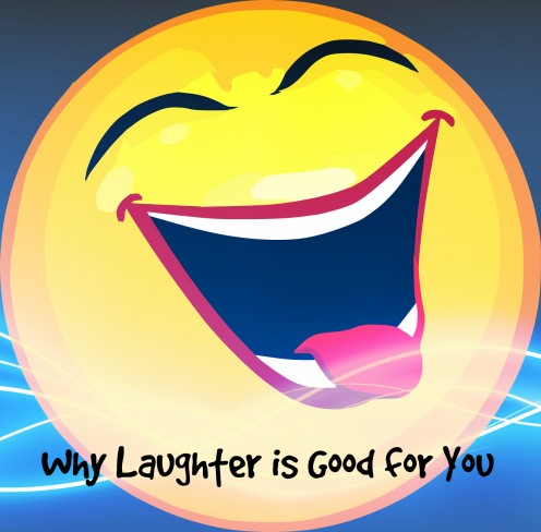 Laughter can make you happier and healthier.