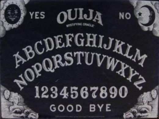 Ouija Board in Black