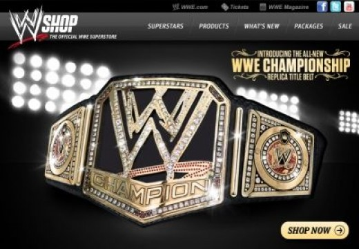 The New WWE Title Belt (click for an Inside the making)
