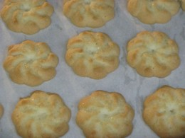 Homemade Spritz cookies