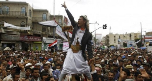 Houthis Demonstration