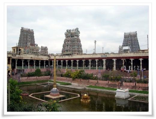 Meenakshi Sundareswarar Temple. Madurai