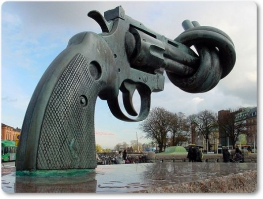 Non-Violence: Statue