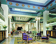 Lobby in the King David Hotel