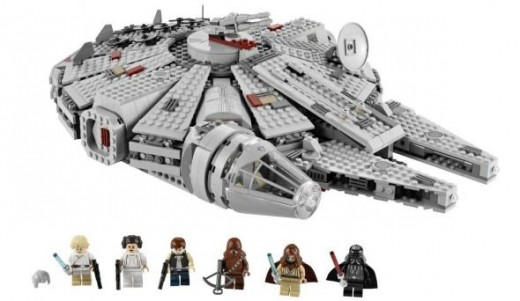 Star Wars Lego Set The Millennium Falcon