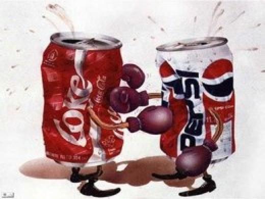 Another Twist Idea - Coke vs Pepsi
