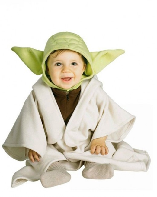 Baby Star Wars Yoda Costume