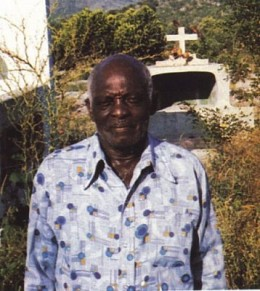 Clairvius Narcisse, alleged real zombie whose story was popularized in the book The Serpent and the Rainbow by researcher Wade Davis.