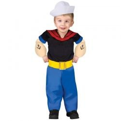 Popeye Costume for Toddlers