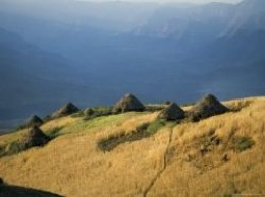 world heritage site simien mountains