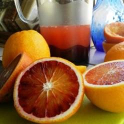 Homemade Blood Orange Soda