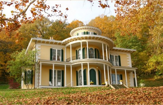 Hillforest, home to Thomas Gaff, was designed by renowned architect Isiah Rogers