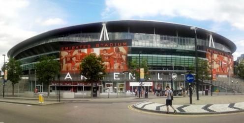 Emirates Stadium, home to Arsenal FC