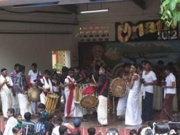 Onam Celebration - Dancing With Drums