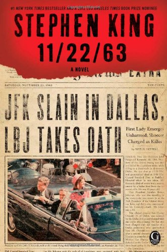Stephen King's 11.22. 63. The Kennedy assassination.