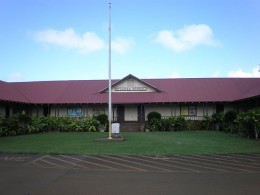 Kilauea School founded in 1882.