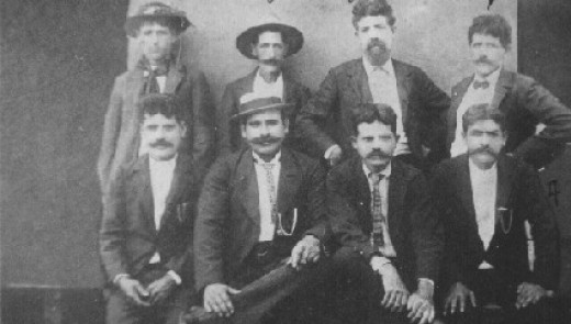 From my private collection, the Pacheco men, Kilauea, Kauai, ca. 1904
