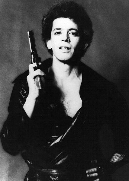 Lou Reed - Mick Rock Photo