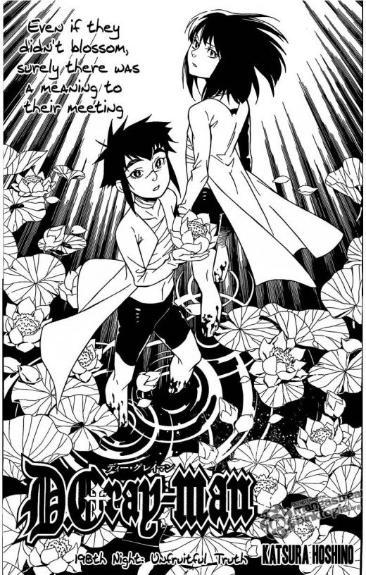 One of my favorite, if not the favorite, chapter from the manga D.Gray-Man