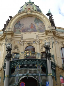 Make Sure You See The Wonderful Art Nouveau in Prague, Czech Republic