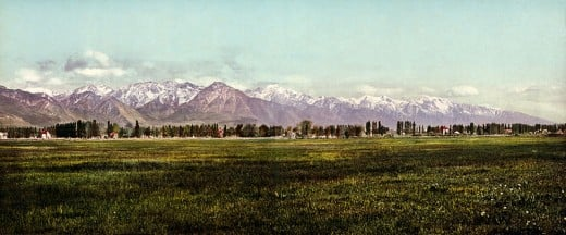 Wasatch Front, Wasatch Mountains.
