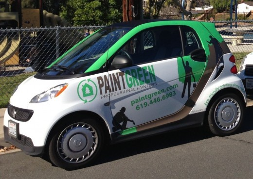 "PaintGreen is an ""eco-friendly"" paint service."