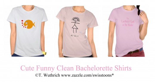 Cute Funny Clean Bachelorette Shirt for the Bride-to-be and all her friends.  See more at Swisstoons shop.