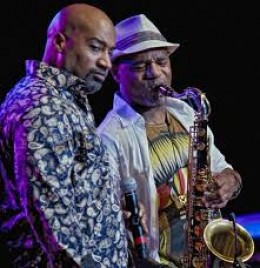Kevin and Kirk Whalum